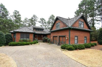 Moore County Single Family Home For Sale: 4 E Wicker Sham Court