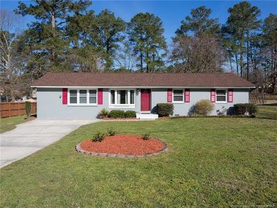 Fayetteville Single Family Home For Sale: 991 Hilton Drive