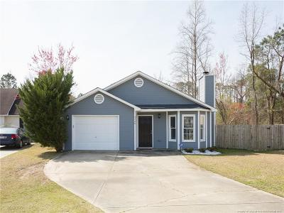 Fayetteville NC Single Family Home For Sale: $125,000