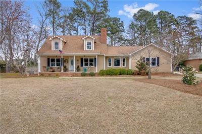 Fayetteville Single Family Home For Sale: 3609 Sugar Cane Circle
