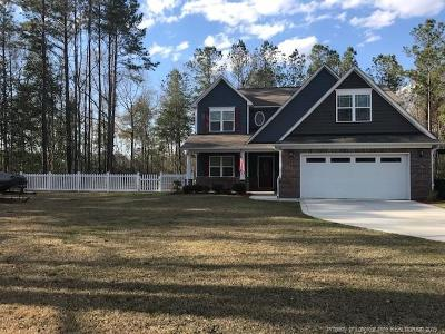 Hope Mills Single Family Home For Sale: 3331 Thrower Road