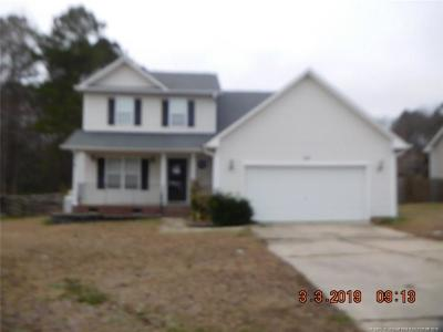 Harnett County Single Family Home For Sale: 216 Edgecombe Drive