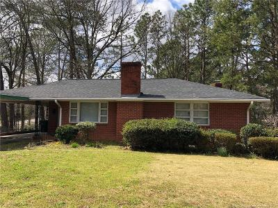 Fayetteville Single Family Home For Sale: 432 McPhee Drive
