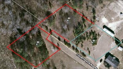 Harnett County Residential Lots & Land For Sale: 60, 80, 85 County Springs Road