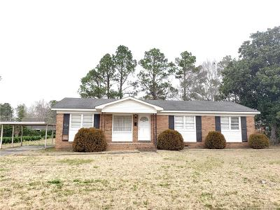 Red Springs Single Family Home For Sale: 425 Marlboro Avenue