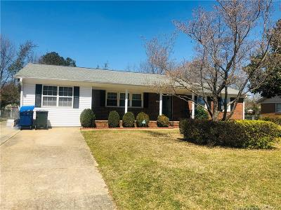 Fayetteville NC Single Family Home For Sale: $126,500