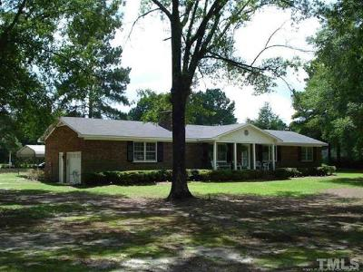 Harnett County Single Family Home For Sale: 3011 Will Lucas Road