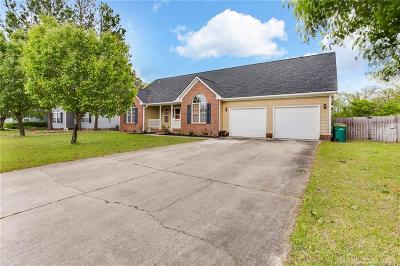 Hope Mills Single Family Home For Sale: 6008 Woodspring Drive