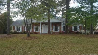 Fayetteville NC Single Family Home For Sale: $192,900