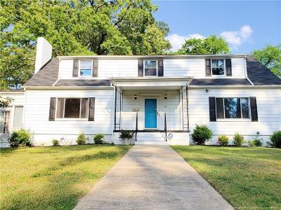 Fayetteville Single Family Home For Sale: 708 Pilot Avenue