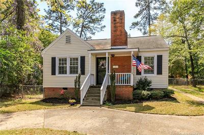 Fayetteville Single Family Home For Sale: 1703 Bragg Boulevard