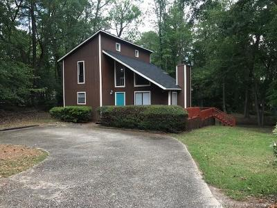 Fayetteville NC Single Family Home For Sale: $122,500