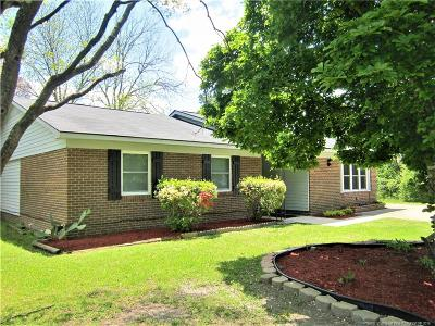 Fayetteville NC Single Family Home For Sale: $95,500