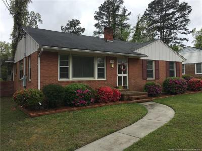 Fayetteville NC Single Family Home For Sale: $64,900