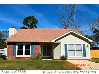 Fayetteville Single Family Home For Sale: 7212 Shady Grove Lane