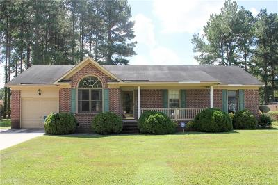 Cumberland County Single Family Home For Sale: 1029 Hoke Loop Road