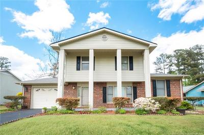 Fayetteville Single Family Home For Sale: 7208 Shady Grove Lane