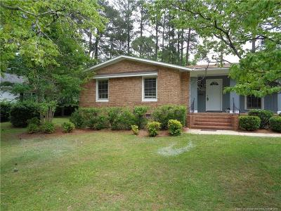 Fayetteville Single Family Home For Sale: 809 Fairfield Road