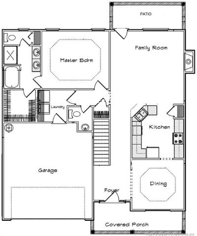 Single Family Home For Sale: 3528 Coupure (Lot 19) Way