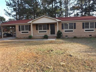 Fayetteville NC Single Family Home For Sale: $72,000
