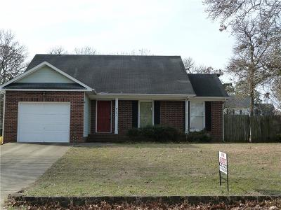 Fayetteville Single Family Home For Sale: 417 Southland Drive