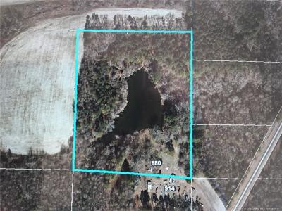 Harnett County Residential Lots & Land For Sale: 880 Jesse Road