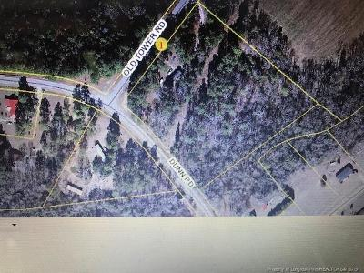 Sampson County Residential Lots & Land For Sale: 40 Old Tower Road