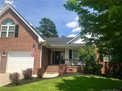 Fayetteville Single Family Home For Sale: 3023 Marcus James Drive