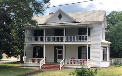 Red Springs Single Family Home For Sale: 112 N College Street