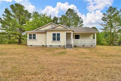 Hoke County Single Family Home For Sale: 1624 Andrews Road