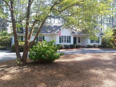 Moore County Single Family Home For Sale: 33 Birdie Drive
