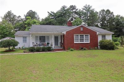 Moore County Single Family Home For Sale: 5068 Beulah Hill Church Road