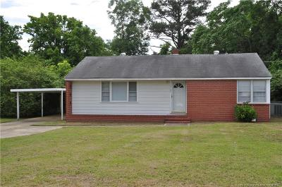 Fayetteville Single Family Home For Sale: 5109 Cypress Road
