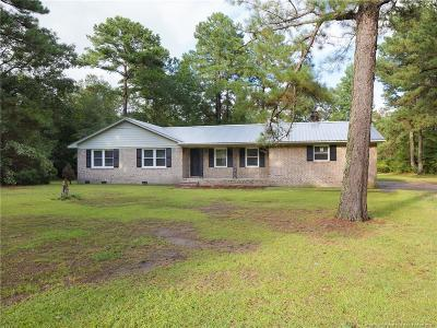 Fayetteville Single Family Home For Sale: 2469 Culbreth Road