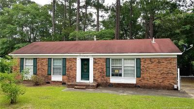 Fayetteville NC Single Family Home For Sale: $67,900