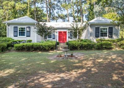 Fayetteville Single Family Home For Sale: 300 Pinecrest Drive