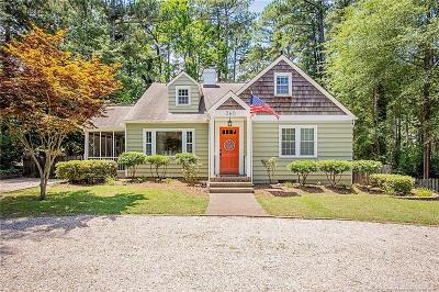 Southern Pines Single Family Home For Sale: 360 E Indiana Avenue