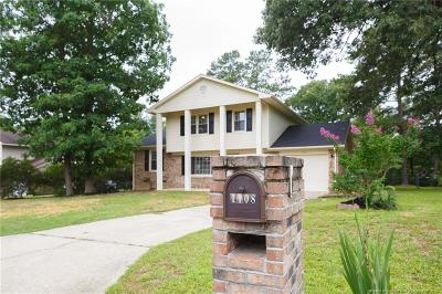 Fayetteville Single Family Home Active Under Contract: 1108 Pleasant Oak Drive