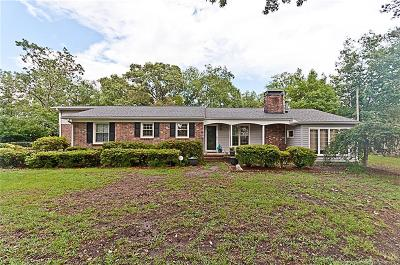 Fayetteville Single Family Home For Sale: 3555 Braddy Road