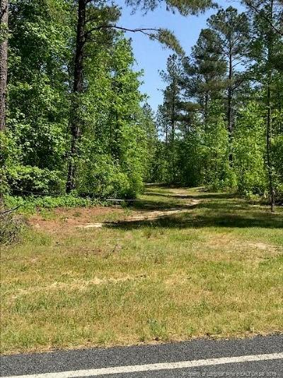 Harnett County Residential Lots & Land For Sale: 2150 McDougald Road