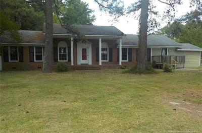 Fayetteville Single Family Home For Sale: 2131 Sapona Road