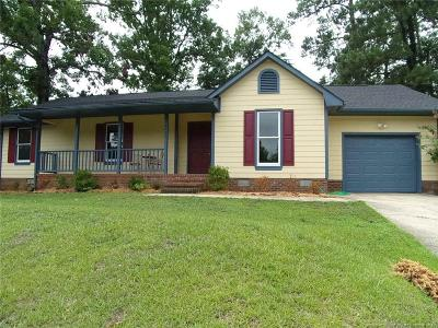 Fayetteville Single Family Home For Sale: 1631 Tryon Drive