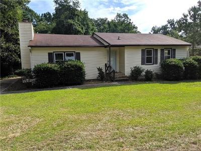 Fayetteville Single Family Home For Sale: 1602 McGougan Road