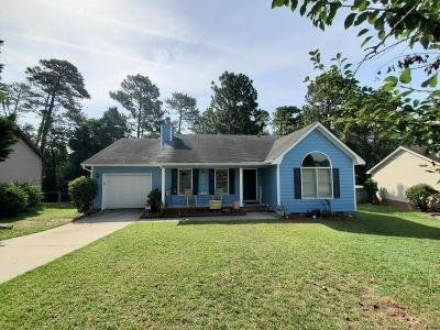 Fayetteville Single Family Home For Sale: 1829 Calista Circle