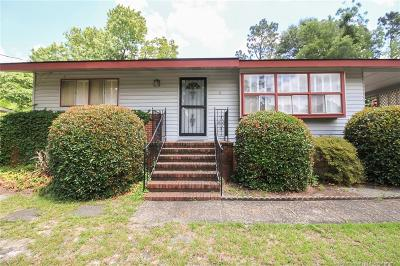 Fayetteville NC Single Family Home For Sale: $61,000