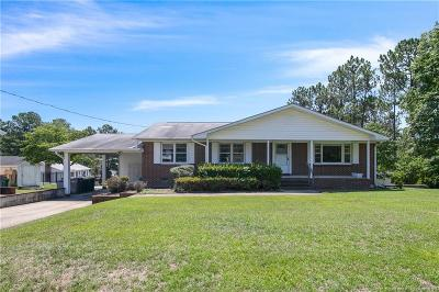 Hope Mills Single Family Home For Sale: 3405 Hawthorne Street