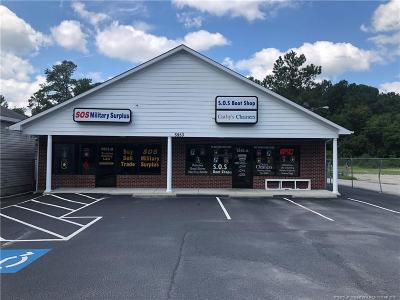 Cumberland County Commercial For Sale: 5953 NW Yadkin Road