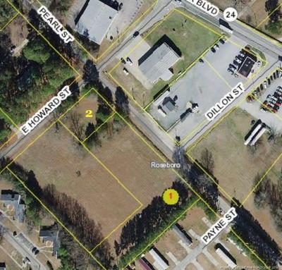 Sampson County Residential Lots & Land For Sale: Howard/Pearl Street