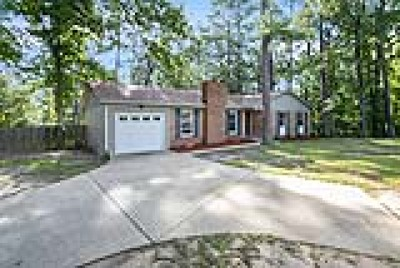 Fayetteville Single Family Home For Sale: 1538 Cain Road