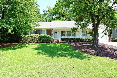 Fayetteville Single Family Home For Sale: 3511 Sugar Cane Circle
